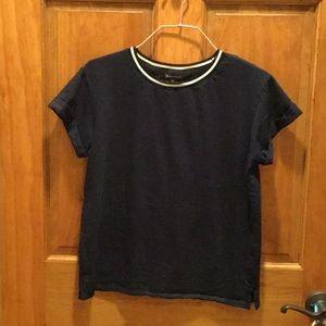 Banana republic black t-shirt size XS